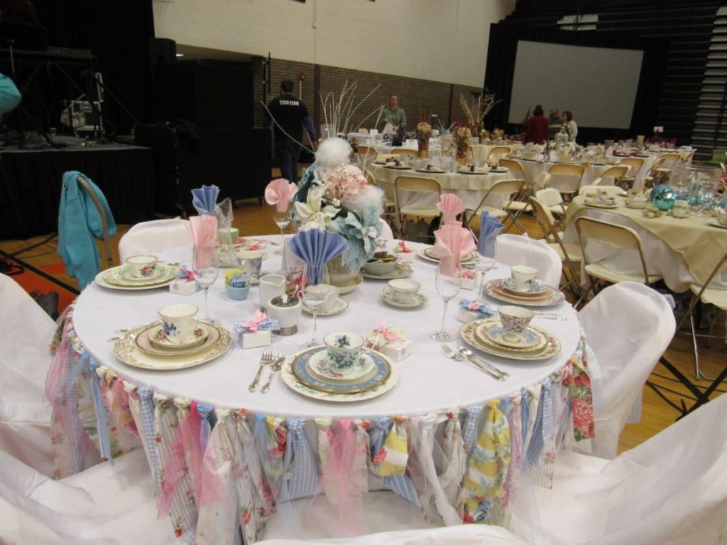 Shabby Chic Mismatched China