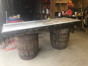 Rustic Beverage Bar