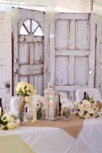 Vintage Doors Backdrop