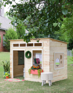 On-site Custom Build Playhouse