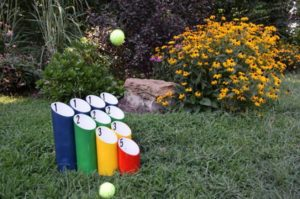 Ball Toss Lawn Game