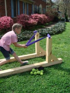 Angry Bird Ball Launcher