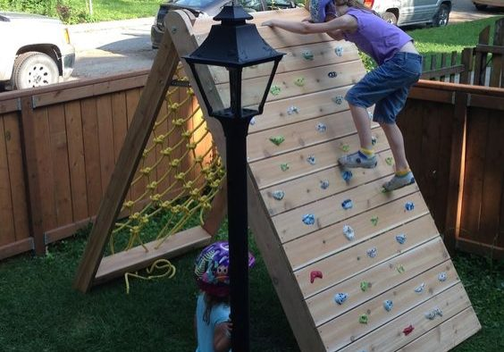 Obstacle Course Climbing Wall